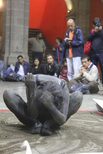 Origin, Performance, Mexico City, 2013