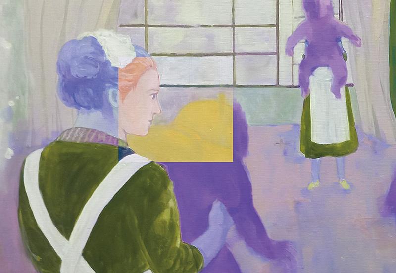 一条美由紀 個展  Personal Structural Color 展示イメージ画像